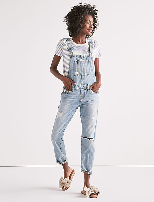 The Boyfriend Overall by Lucky Brand