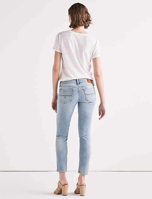 Lolita Mid Rise Skinny Jean With Pintuck, GLENNEN