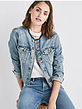REMADE SMART JEAN TRUCKER JACKET,