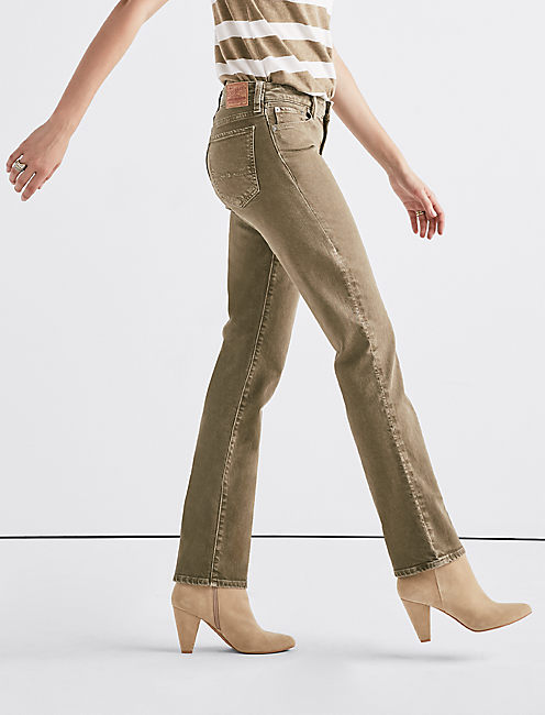 Sweet Mid Rise Straight Jean, VINTAGE CANTEEN