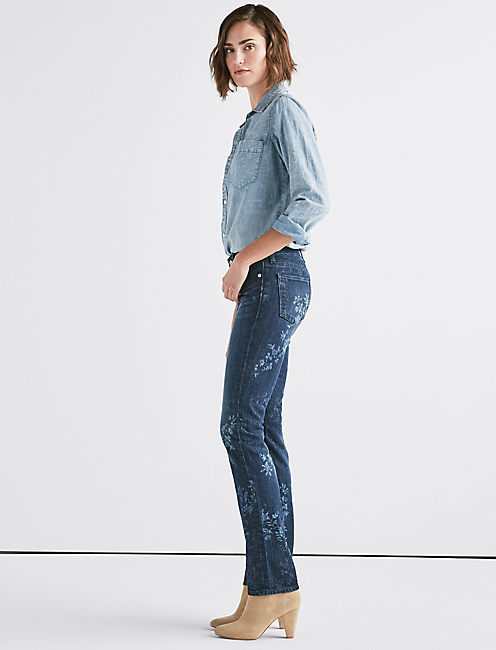 Lucky Sweet Mid Rise Straight Jean