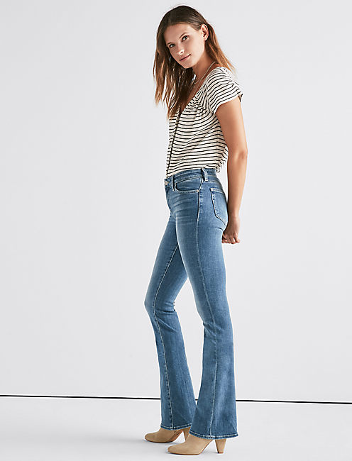 Lucky Ava Mid Rise Boot Jean