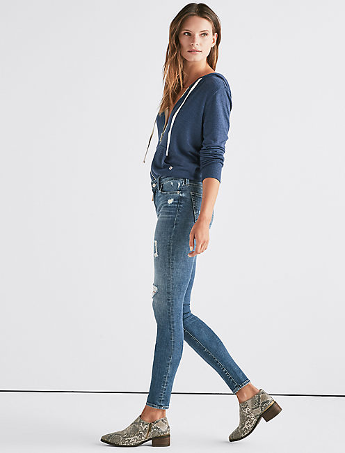 Lucky Ava Mid Rise Super Skinny Jean