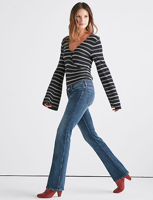 Lucky Lil Maggie Low Rise Flare Jean