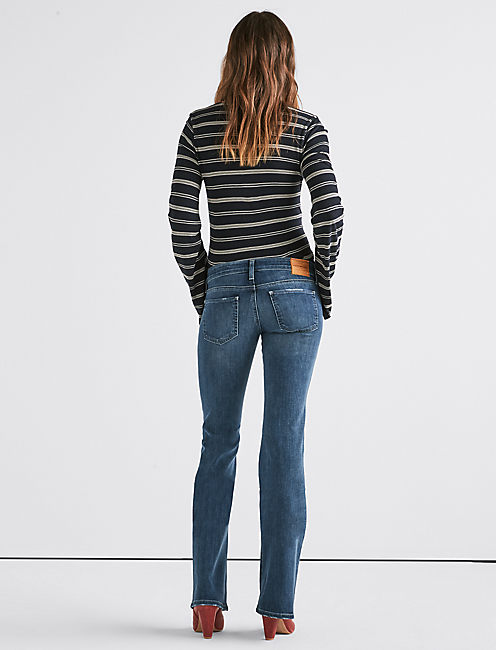 Lil Maggie Low Rise Flare Jean,