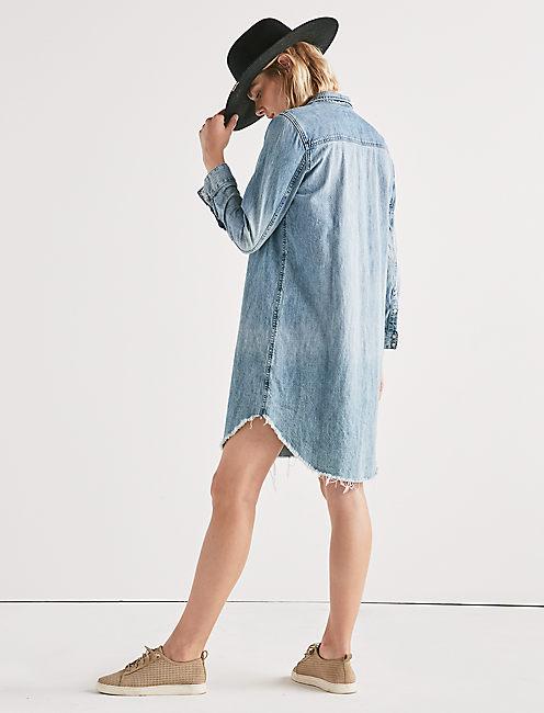WESTERN SHIRT DRESS,