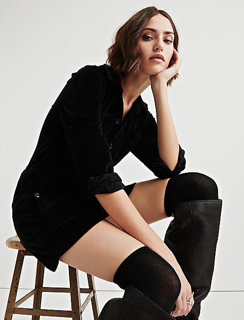WORKWEAR DRESS, LUCKY BLACK #001