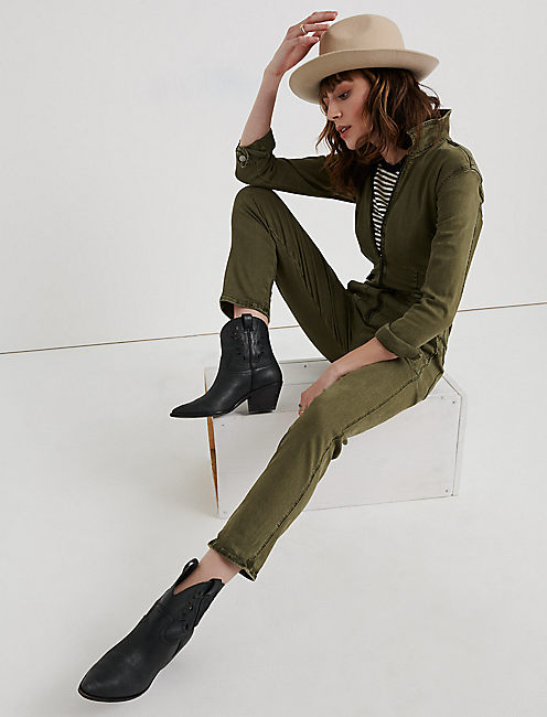 AVIATOR JUMPSUIT, IVY GREEN