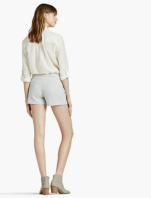 STRUCTURED SHORT, NATURAL MULTI