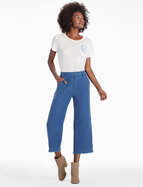 DENIM CULOTTE,