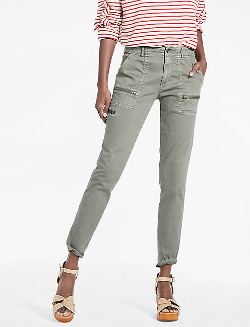 Utility Chino Pant, WASHED OLIVE