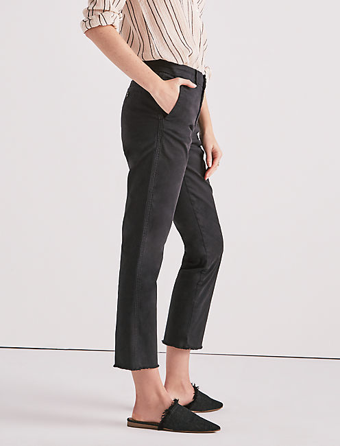 DOWNTOWN CHINO PANT, 001 LUCKY BLACK