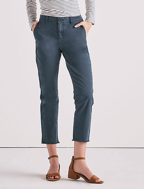 DOWNTOWN CHINO PANT, TEAL