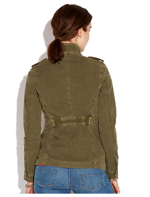 CARRIEANNE JACKET, #3257 IVY GREEN