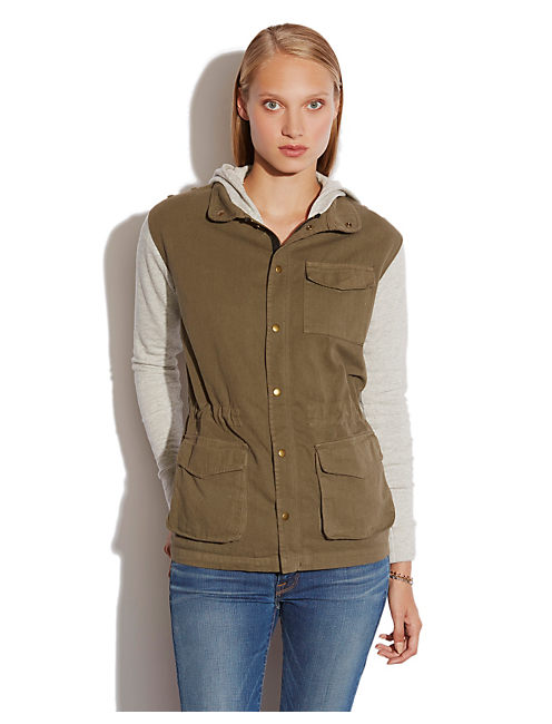 FRENCH TERRY MILITARY, OLIVE MULTI