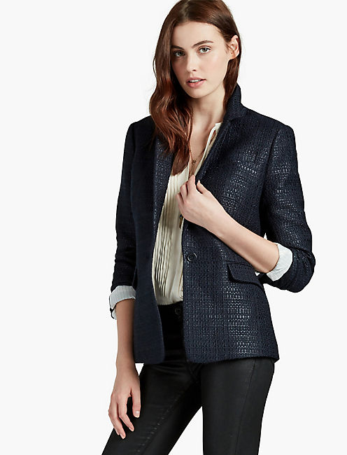 TWEED CITY BLAZER,