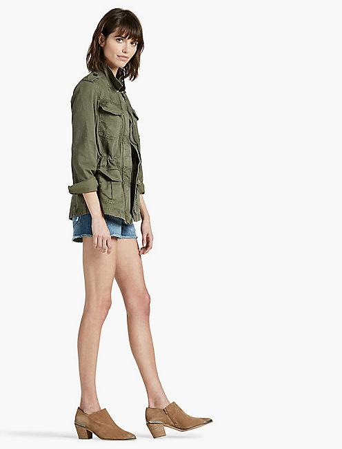 Lucky Feminine Military Jacket