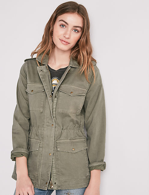 GIRLFRIEND UTILITY JACKET,