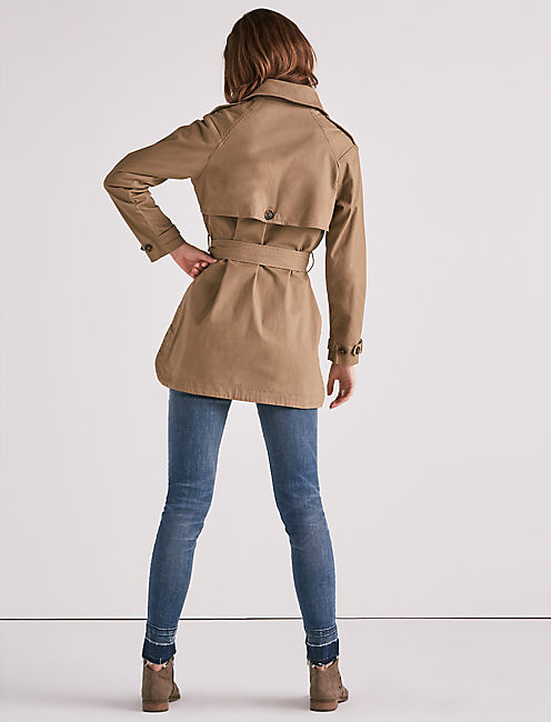 MILITARY TRENCH COAT,