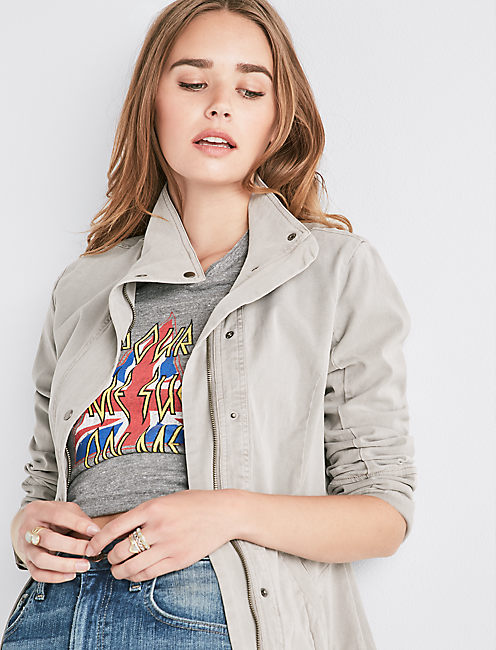 Vicky Utility Jacket by Lucky Brand