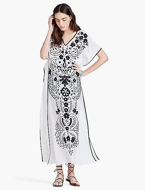 EMBROIDERED CAFTAN,