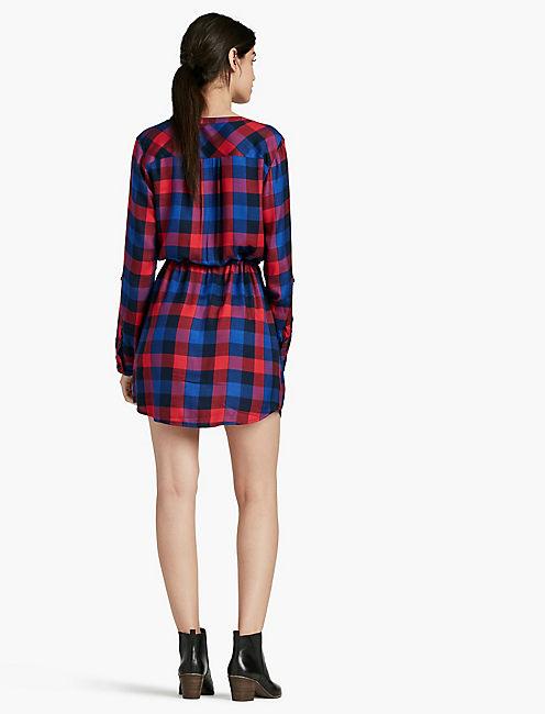 GIRLFRIEND PLAID DRESS,