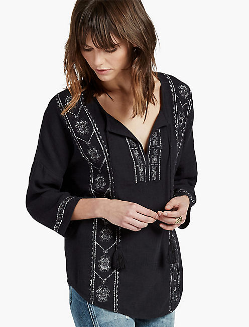 EMBROIDERED PEASANT,