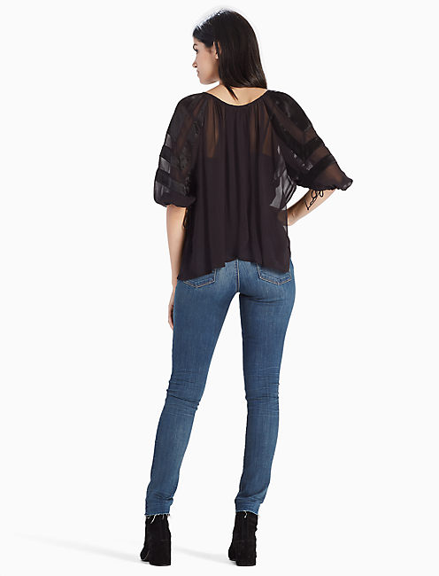 OPEN BACK TOP,