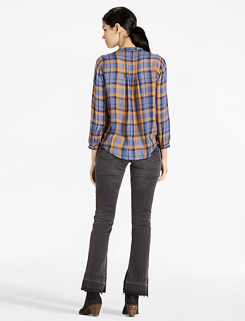 PLAID TOP,