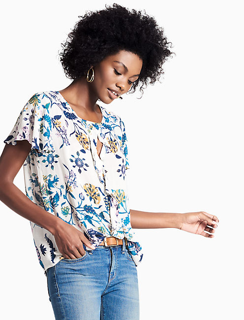 BOTANICAL COLD SHOULDER,