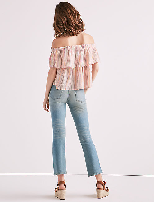 CRINKLE SHINE TOP,