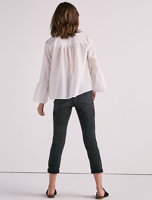 LONG SLEEVE HAZELL TOP,