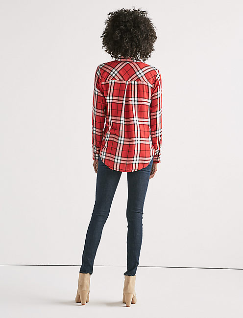 BOYFRIEND PLAID SHIRT,