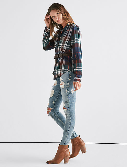 Lucky Boyfriend Plaid