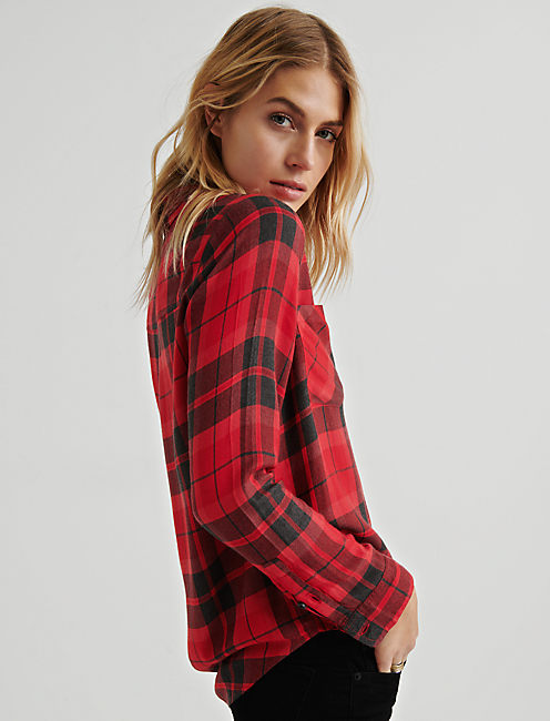 LUCKY CLASSIC PLAID, RED MULTI