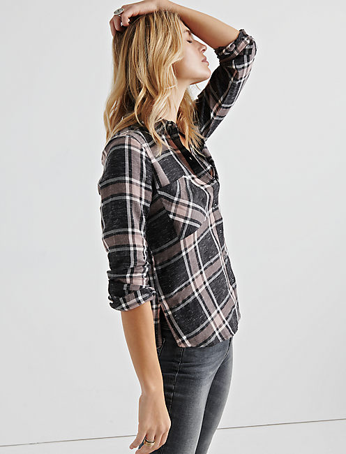 Lucky Plaid Shirting
