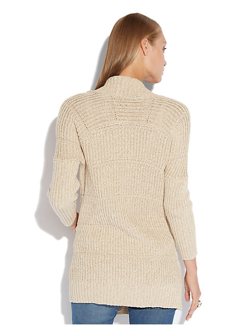 LEXINGTON OPEN SWEATER, NATURAL MULTI