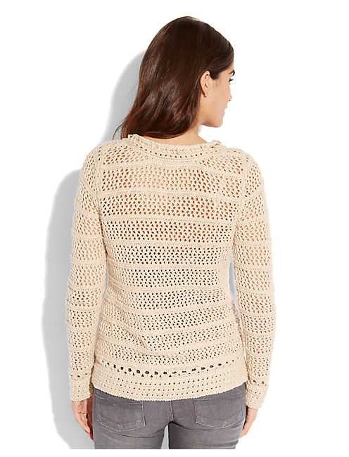 MADISON SWEATER, NATURAL MULTI