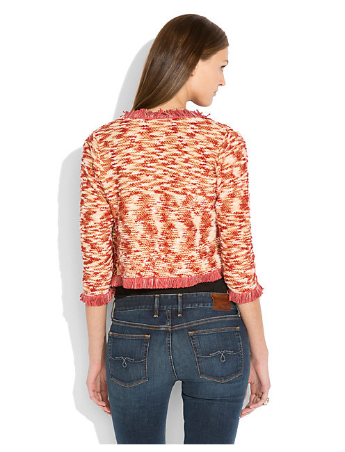 EMBROIDERED SWEATER, RED MULTI