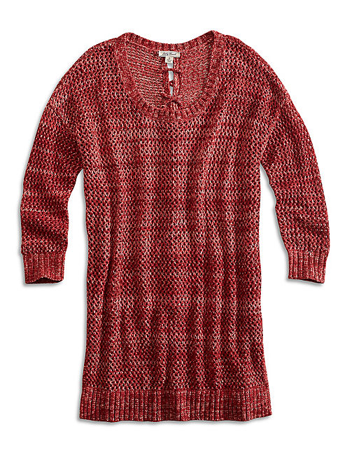 LACED UP PULLOVER,