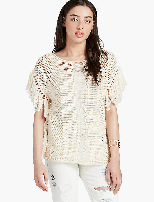 NOMAD FRINGE SWEATER,