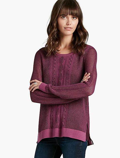 CABLE PULLOVER,