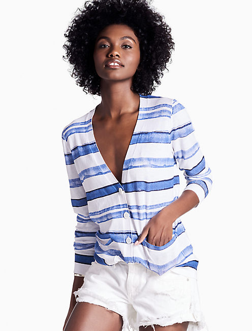 STRIPED CARDIGAN,