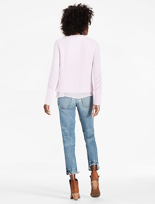 NICO PULLOVER, PINK