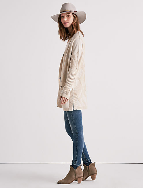 Lucky Lightweight Draped Cardigan Sweater
