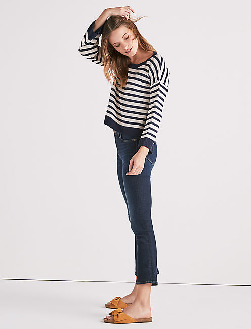 STRIPED PULLOVER SWEATER,
