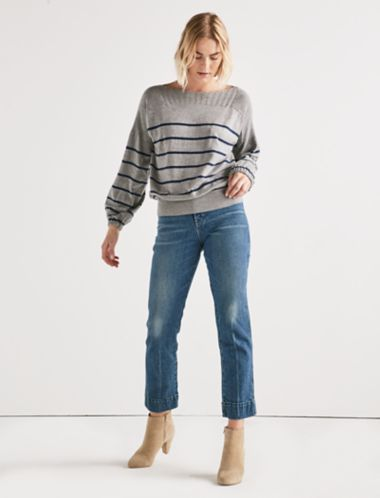 Lucky Stripe Pullover