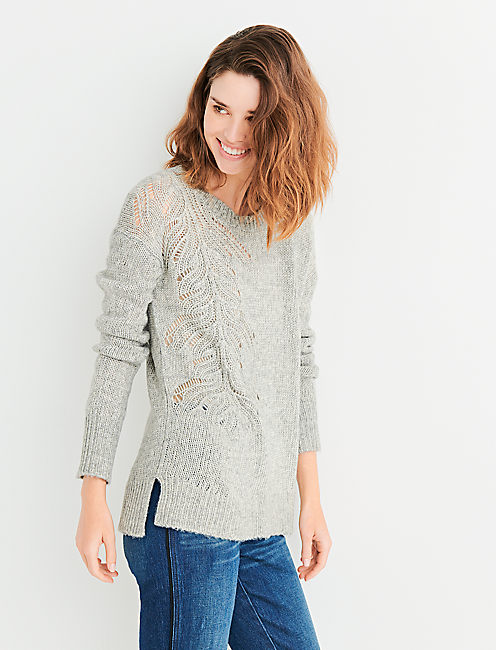 Pink Womens Sweaters On Sale Lucky Brand