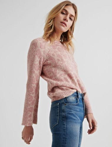 Lucky Damask Pullover