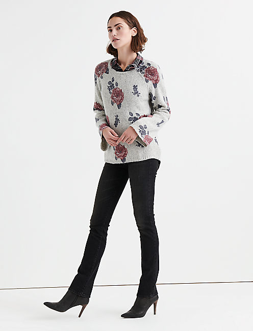 Lucky Floral Pullover